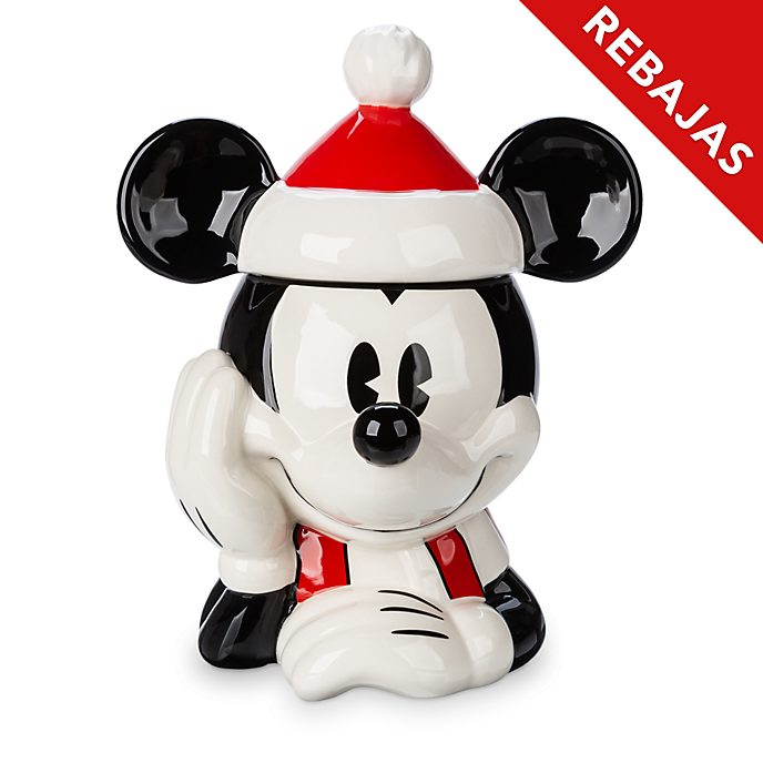 Tarro galletas Mickey Mouse, Holiday Cheer, Disney Store