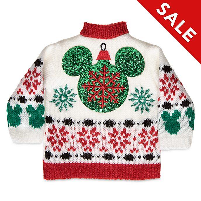 Disney Store - Holiday Cheer - Micky Maus - Flaschenpullover