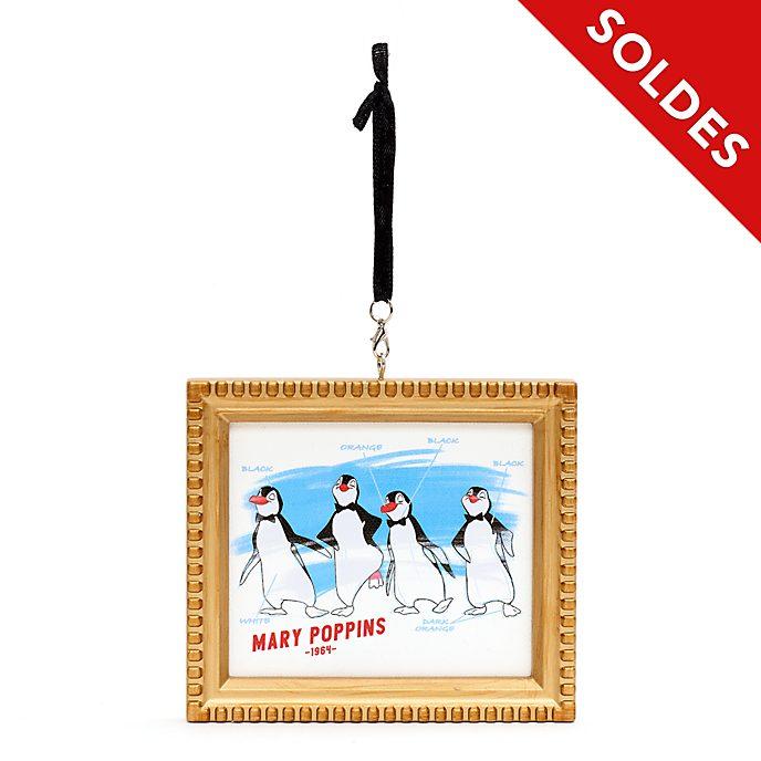 Disney Parks Décoration Serveurs pingouins Ink & Paint à suspendre, MaryPoppins