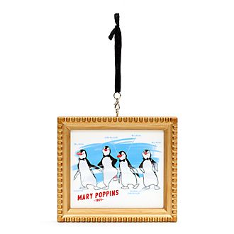 Disney Parks Penguin Waiters Ink & Paint Hanging Ornament, Mary Poppins