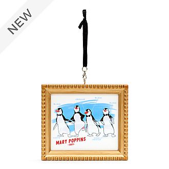 Disney Store Penguin Waiters Ink & Paint Hanging Ornament, Mary Poppins