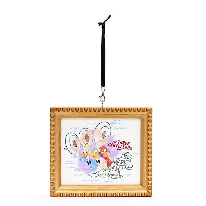 Disney Parks - Ink & Paint - Drei Caballeros - Dekorationsstück zum Aufhängen