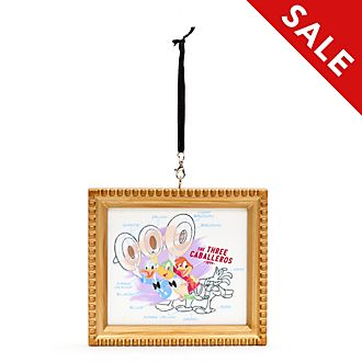 Disney Parks The Three Caballeros Ink & Paint Hanging Ornament