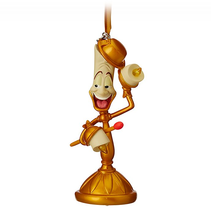 Disney Store Lumiere Light-Up Hanging Ornament