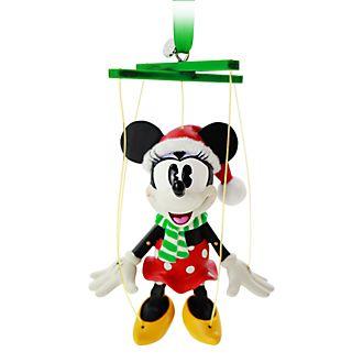 Disney Store Minnie Mouse Festive Hanging Ornament