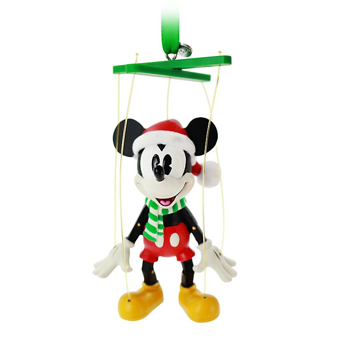 Adorno colgante navideño Mickey Mouse, Disney Store
