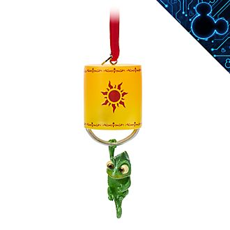 Disney Store Pascal Light-Up Hanging Ornament, Tangled