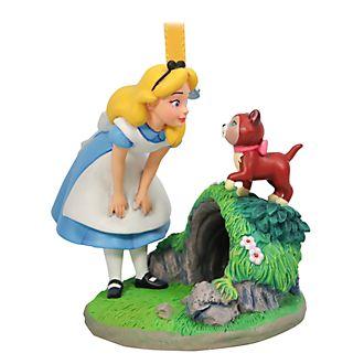 Disney Store Décoration Alice au Pays des Merveilles à suspendre