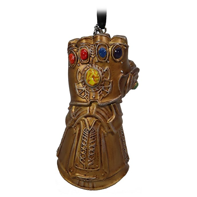 Disney Store Infinity Gauntlet Light-Up Hanging Ornament