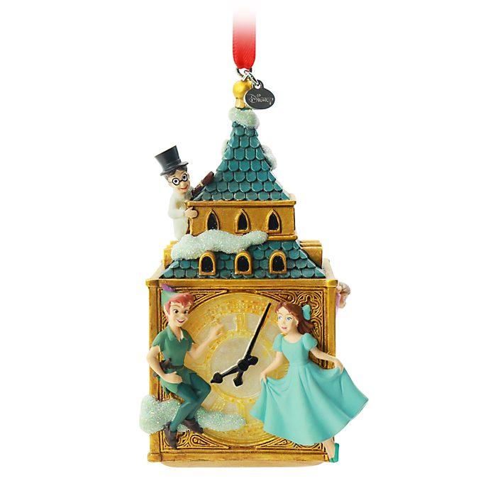 Disney Store Peter Pan Big Ben Hanging Ornament