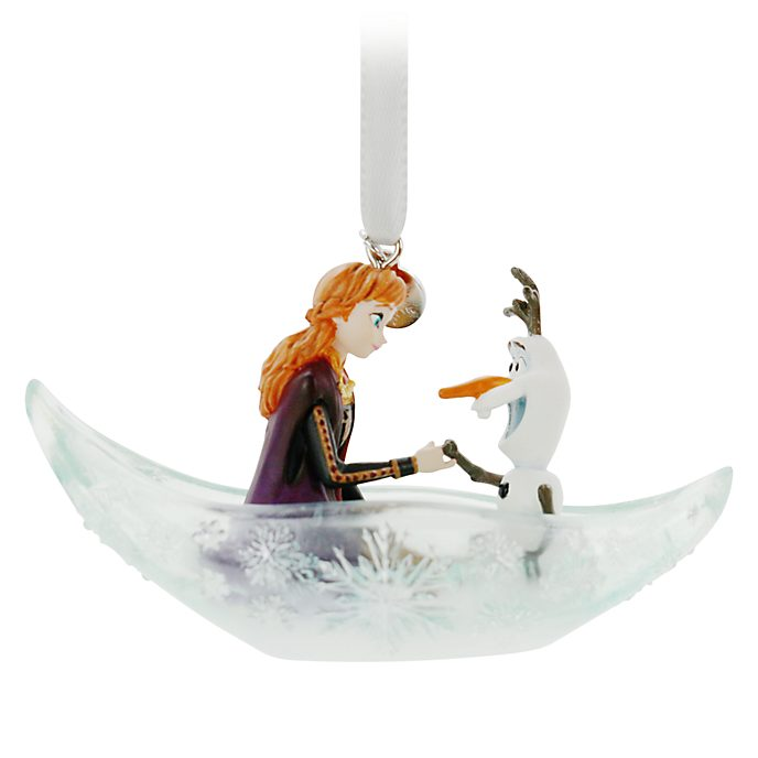 Disney Store Anna and Olaf Hanging Ornament, Frozen 2