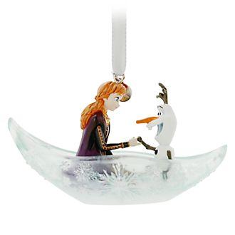 Adorno colgante Anna y Olaf, Frozen 2, Disney Store