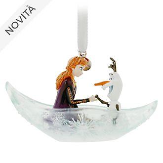 Decorazione da appendere Anna e Olaf Frozen 2: Il Segreto di Arendelle Disney Store