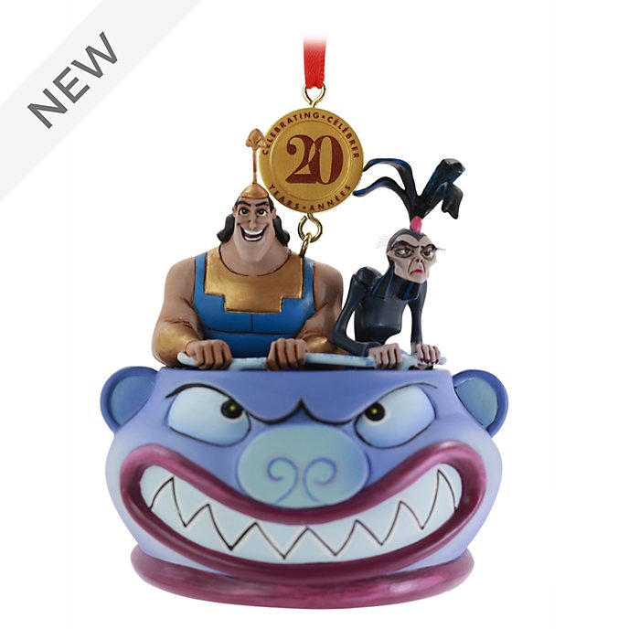 Disney Store The Emperor's New Groove Legacy Hanging Ornament