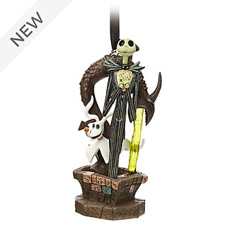 Disney Store The Nightmare Before Christmas Light-Up Hanging Ornament