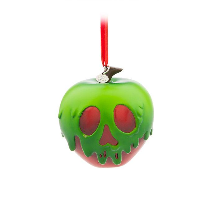 Adorno colgante manzana envenenada, Disney Store