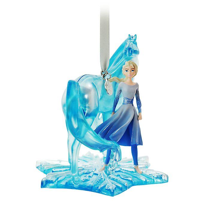 Disney Store Elsa and Nokk Hanging Ornament, Frozen 2