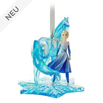 Disney Store - Die Eiskönigin2 - Elsa und Nokk - Dekorationsstück zum Aufhängen