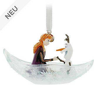 Disney Store - Die Eiskönigin2 - Anna und Olaf - Dekorationsstück zum Aufhängen