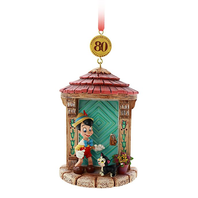 Disney Store Pinocchio Legacy Hanging Ornament