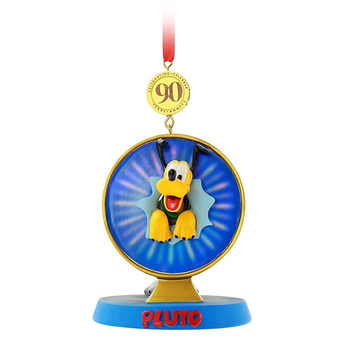 Disney Store Pluto Legacy Hanging Ornament