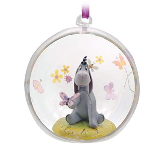 Disney Store Eeyore Open Globe Hanging Ornament