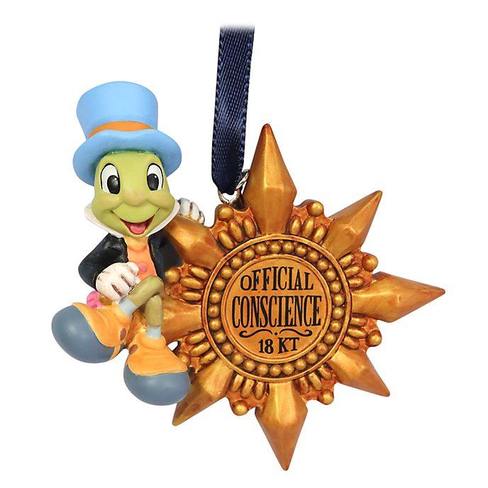 Disney Store Décoration Jiminy Cricket à suspendre, Pinocchio