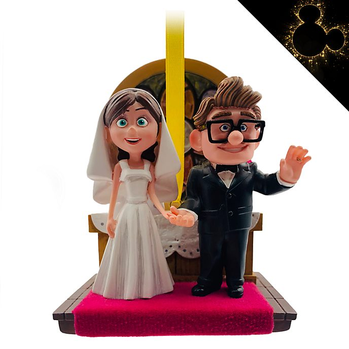 Disney Store Carl and Ellie Hanging Ornament, Up