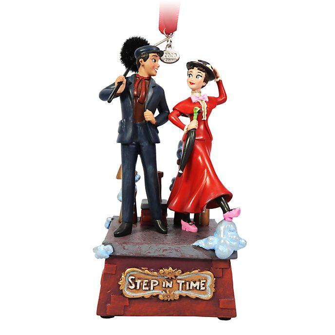 Adorno colgante con canción Mary Poppins y Bert, Disney Store