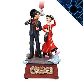 Disney Store - Mary Poppins und Bert - Singendes Dekorationsstück zum Aufhängen