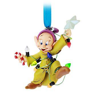 Disney Store Dopey Festive Hanging Ornament
