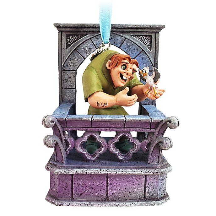 Disney Store Quasimodo Singing Hanging Ornament