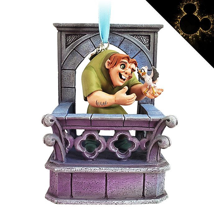 Disney Store Décoration musicale Quasimodo à suspendre