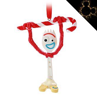 Disney Store - Toy Story4 - Forky - Festliches Dekorationsstück zum Aufhängen