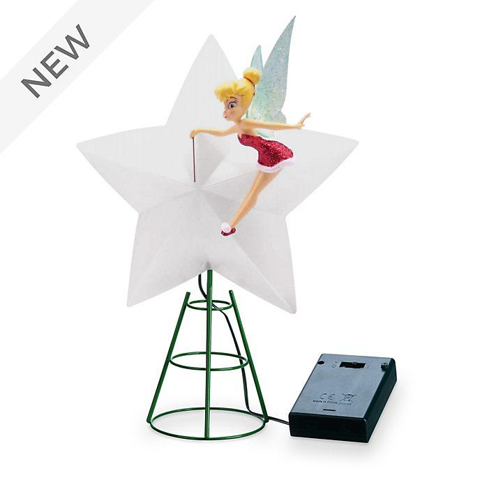 Walt Disney World Tinker Bell Holiday Cheer Light-Up Tree Topper