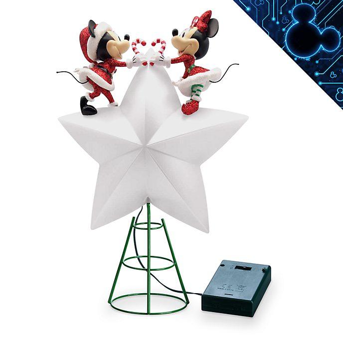 Walt Disney World - Holiday Cheer - Micky und Minnie - Beleuchtete Weihnachtsbaumspitze