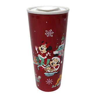 Taza viaje Mickey y sus amigos, Holiday Cheer, Disney Store