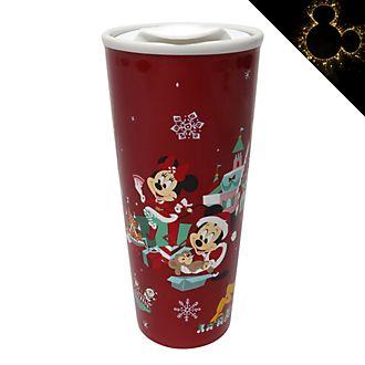 Tazza da viaggio Topolino e i suoi amici Holiday Cheer Disney Store