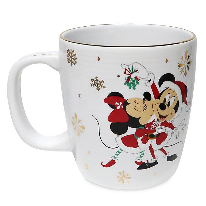 Disney Store Mug Mickey et Minnie, Holiday Cheer