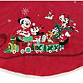 Disney Store Mickey and Friends Holiday Cheer Tree Skirt