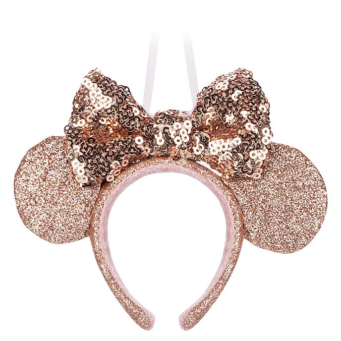 Disney Store Minnie Mouse Golden Ears Headband Hanging Ornament