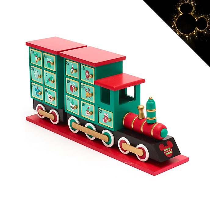 Disney Store Mickey and Friends Holiday Cheer Advent Calendar