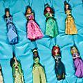Disney Store - Disney Prinzessin - Dekorationsstücke zum Aufhängen, 12-teiliges Set