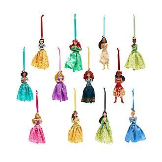 Set da 12 ornament da appendere Principesse Disney, Disney Store