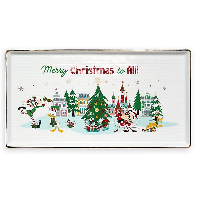 Disney Store Plat de service Mickey et ses Amis, Holiday Cheer