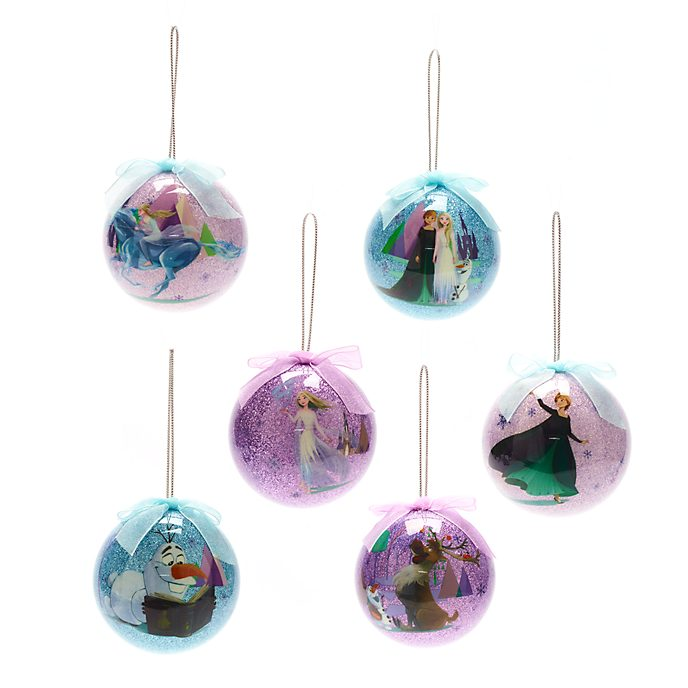Disney Store Frozen 2 Baubles