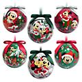 Disney Store Boules Mickey et ses Amis, Holiday Cheer