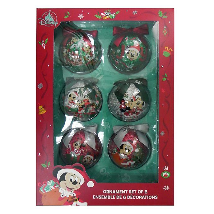 Disney Store - Holiday Cheer - Micky und Freunde - Weihnachtskugeln
