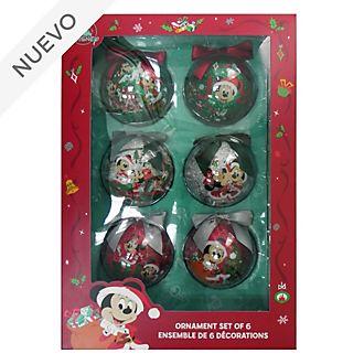 Bolas de Navidad Mickey y sus amigos, Holiday Cheer, Disney Store