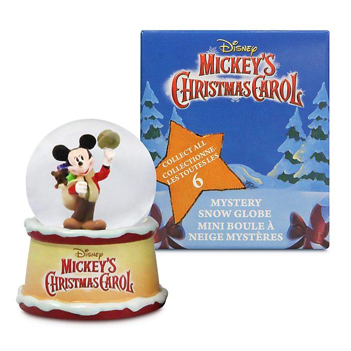 Disney Store Boule à neige mystère Le chant de Noël de Mickey